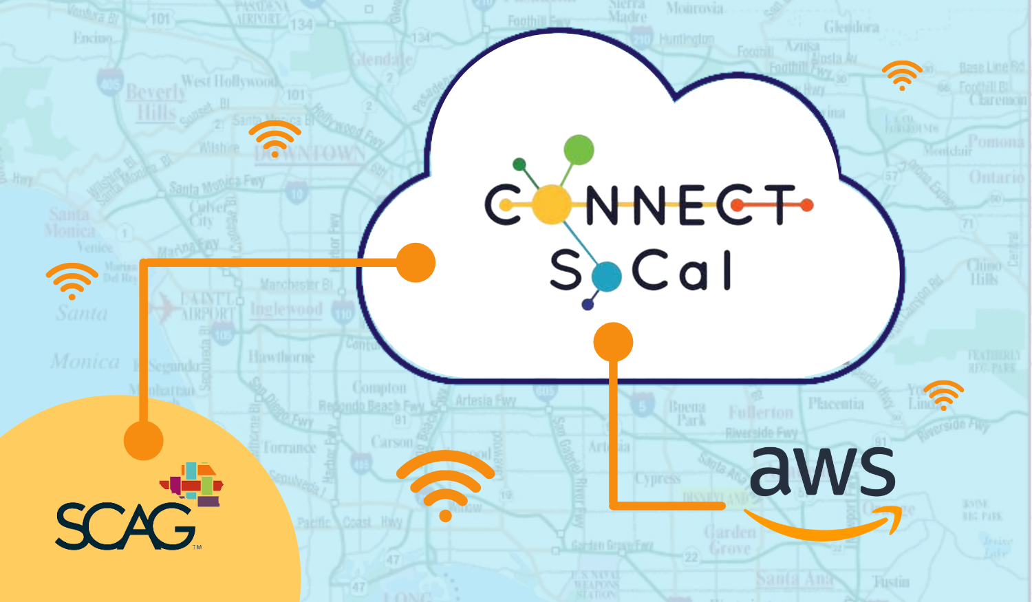 AWS, SCAG, and Connect SoCal meet in the Web Cloud.