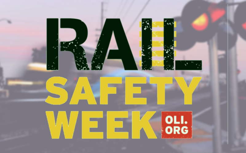 Rail Safety Week Graphic