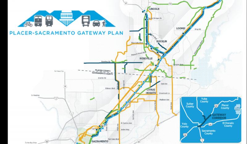 Corridor Map (Auburn to Sacramento)